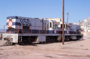 GE-54 ton switchers built in 1956 for U.S. Gypsum